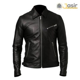 Mens like racer leather jackets, custom leather jackets available our store