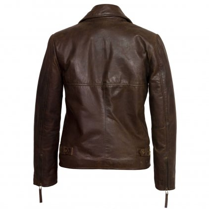 Womens Sheepskin flying jacket Antique