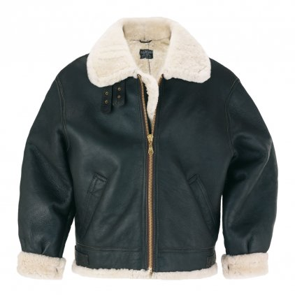 Men's Shearling Sheepskin Flying Jacket