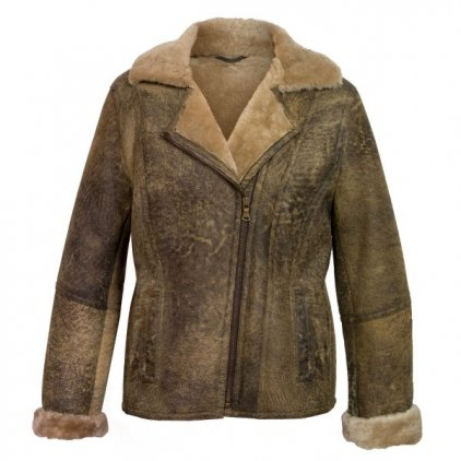 Women's Apache Sheepskin Flying Jacket