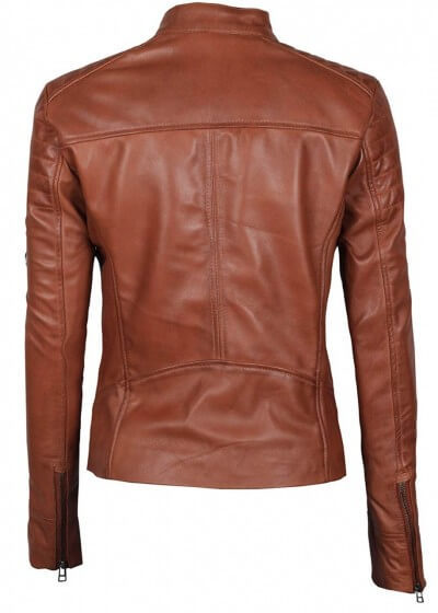 New Men Quilted Leather Jacket Soft Lambskin Biker Bomber T810