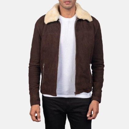 Coffner Suede Blouson Jacket