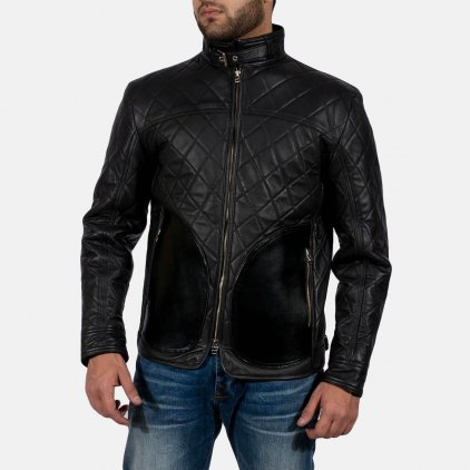 Equilibrium Black Leather Jacket