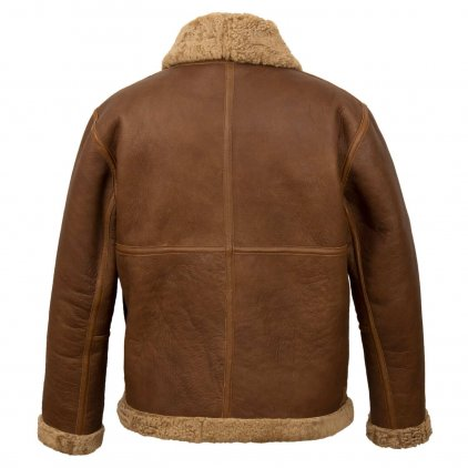 Men's Sheepskin Leather Flying Jacket