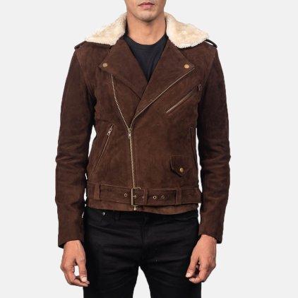 Furton Suede Blouson Jacket