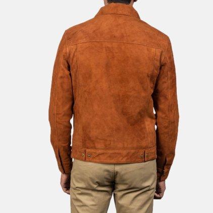 Stallon Suede Blouson Jacket