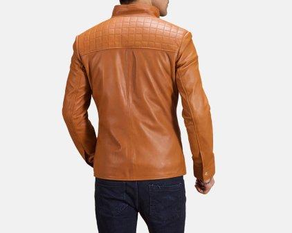 Voltex Leather Biker Jacket