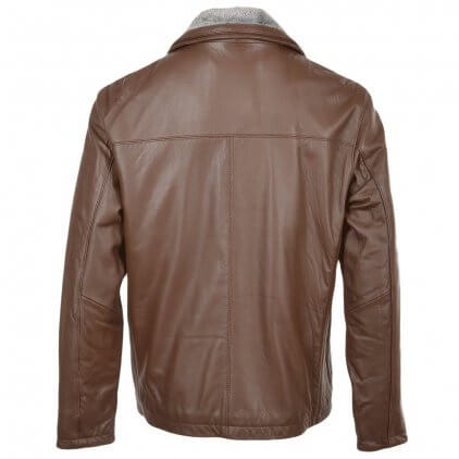 ezgif-6-407ef7Kims Men's Brown Blouson Leather Jacket8705b8