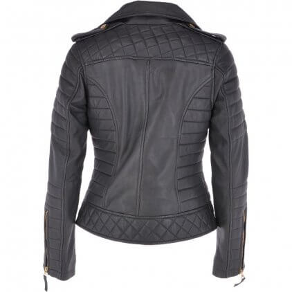 Emmy Women's Black Vintage Leather Jacket