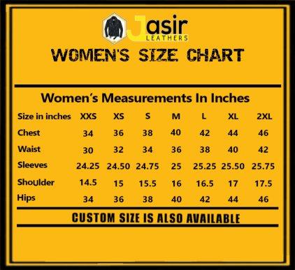 Women measuring guide, women size chart, measuring chart, inch chart